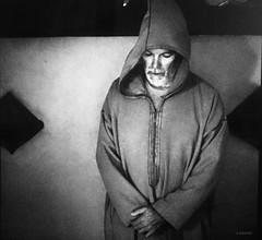 Fray Michel de León (KRAMEN) Tags: fraile bn bw face monje rostro monocromo rezo cara portrait retrato man people