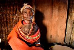 Kenya- Turkana region- Randille woman (venturidonatella) Tags: kenya africa portrait ritratto woman donna donne women colori colors nikon nikod500 d500 sguardo look people persone gente gentes emozione emotion rendille tribe rendilletribe minorities minoranze tribù loyangalani