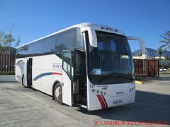"""2018 030901 MAN ANDECAR COACH AUTOCARES RIOS ALICANTE 121 4861 FNL IN ANTEQUERA (Andrew Reynolds transport view) Tags: europe spain andalucia transport bus coach transit passenger omnibus diesel """"mass transit"""" 2018 030901 man andecar autocares rios alicante 121 4861 fnl in antequera"""