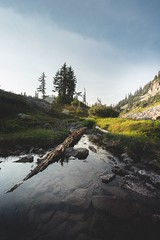 Quiet Moments (StevenScarcello) Tags: a7r sony scene scenery washington wilderness wild rocks nature pool flow water mountains alpine photo calm quiet landcape