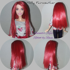 Holly (thatRavie) Tags: barbie fashionista lavenderkiss reroot custom doll