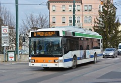 Venezia, Via Cristoforo Colombo 15.01.2018 (The STB) Tags: bus autobus autobús busse venezia italia publictransport citytransport öpnv trasportopubblico venecia venedig