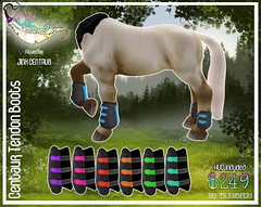 Jinx Centaur - Tendon Boots (Sodap0pp) Tags: jinx centaur fantasy boots tendon horse pony equine secondlife second life avatar