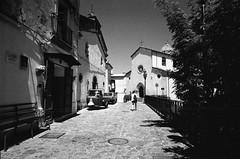 Via Vittorio Emanuele II, Caloveto, Calabria Italia (Postcards from San Francisco) Tags: ma berggerpancro400 21mmsem film analog caloveto calabria italia