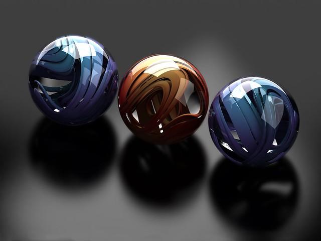 Обои шары, стекло, металл, гладкий, форма картинки на рабочий стол, фото скачать бесплатно