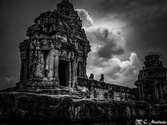 180728-038 Bakong (2018 Trip) (clamato39) Tags: bakong roluosgroup angkor cambodge cambodia asia asie temple religieux religion voyage trip blackandwhite bw monochrome noiretblanc patrimoine landmark