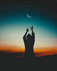 Afterglow backlit beautiful - Credit to https://homegets.com/ (davidstewartgets) Tags: afterglow backlit beautiful crescent moon dark dawn dusk evening hands man outdoors person photography photoshoot pose posture scenery scenic silhouette sky