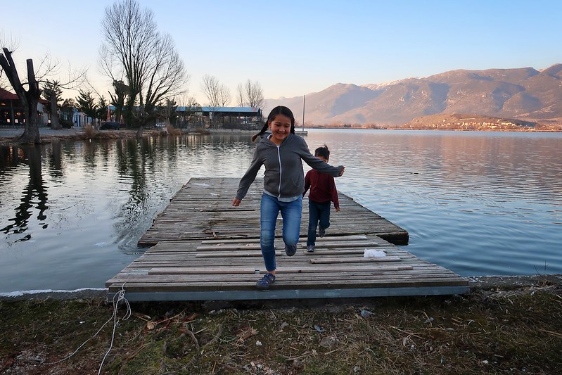 Our first few days camping in northern Greece blog
