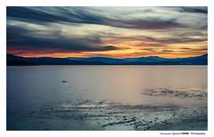 Burning sky (Ignacio Ferre) Tags: embalsedesantillana manzanareselreal lago lake agua water madrid españa spain nikon landscape paisaje naturaleza nature sunset puestadesol anochecer nubes clouds