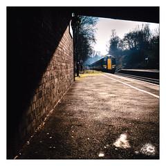 February Shadows (Gingydadtog) Tags: class172 dmu diesel passengertrain rowleyregis rowleyregisstation westmidlands westmidlandstrains