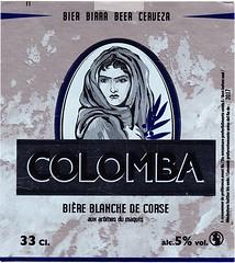 France/Corsica - Brasserie Pietra (Foriani) (cigpack.at) Tags: brasseriepietra foriani frankreich france corsica korsika corse colomba biereblanchedecorse bier beer brauerei brewery label etikett bierflasche bieretikett flaschenetikett