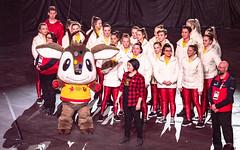 Susan Judge 2019 03 02 Canada Winter Games Closing Ceremonies-32 (suejudge) Tags: 2019 canada winter games closing ceremonies festival music crowd emotions lights audience centrium entertainment mascot waskasoo appearance