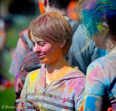 Faces at The Festival (Greatest Paka Photography) Tags: face paint paintedface gulal tradition festival holi fostercity hindu color celebration culture smile spring powder portrait