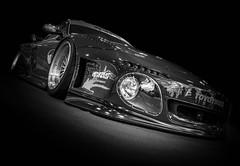 911 (Dave GRR) Tags: porsche 911 slant nose importfest toronto auto show 2018 monochrome mono chrome black white bw tuning rims custom widebody bodykit olympus