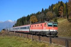1144 226, IC 592 ( Salzburg > Klagenfurt ). Penk (M. Kolenig) Tags: 1144 intercity tauernbahn wald