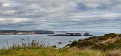 A couper le souffle !! (jmollien) Tags: portugal sagrès algarve océan atlantique paysage landscape ciel nuages sky cloud bateaux phare boats lighthouse