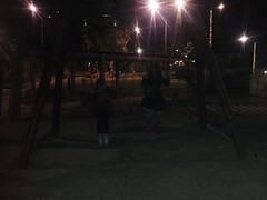 20181205_hariton10 (Regine G.) Tags: playground swings grandmotherandgrandson night outdoor fun carefree
