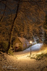 Prebends cottage ... (Mike Ridley.) Tags: durhamcity winter snow sonya7r2 mikeridley nature prebendscottage