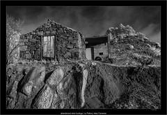 abandoned wine bodega, La Palma, Islas Canarias (Dierk Topp) Tags: a7r bw ilce7r ir sonya7rir abandoned architecture canaryislands infrared infrarot islascanarias lapalma monochrom sw sony
