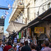 In the busy Old City of Jerusalem