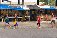 Seen Something (Beegee49) Tags: street children playing staring boys girls woman happy planet looking panasonic fz1000 bacolod city philippines asia