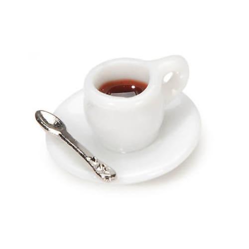 Dollhouse Miniature Mini Cup Of Coffee