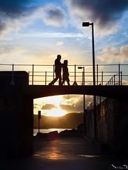 Atardecer en La Punta Liquerique (Jaime Martin Fotografia) Tags: asturias gijon puerto sunset atardecer