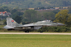 6526 Mikoyan-Gurevich Mig-29AS Slovakian Air Force Sliac 01st September 2018 (michael_hibbins) Tags: 6526 mikoyangurevich mig29as slovakian air force with parachute sliac 01st september 2018 aeroplane aviation aerospace aircraft airplane aero airfields airport airports military defence strategic tactical fighter bomber multiengined multirole jet jets afterburner afterburners plane planes