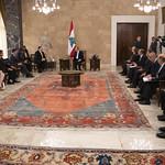 Secretary Pompeo Meets With President Aoun thumbnail