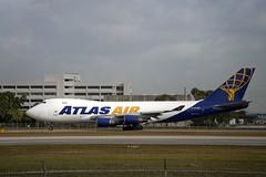 Atlas Air Boeing 747-47U(F) (N405MC) © (CAUT) Tags: aviation aviacion aircraftspotting planespotting spotting spotter avion aircraft airplane plane flugzeug aeropuerto airport caut 2019 nikon d610 usa kolumbien
