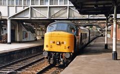 BR Class 45 No 45124 Rotherham Masborough Station 27th July 1986 (robinstewart.smith) Tags: br class 45 rotherham masborough station 1986