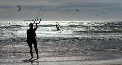 Kites & Light (Rob Millenaar) Tags: southafrica bloubergstrand dolphinbeach kitesurfing scenery landscape light people