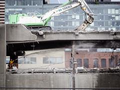 Double deck teamwork (WSDOT) Tags: seattle gp construction wsdot alaskan way viaduct replacement demolition 2019