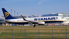 EI-EXE / Boeing B-737.8AS / Ryanair (PBe1958) Tags: transportation lietadlo aircraft airplane aero aeroplane airliner jetliner boeing b738 b7378as ryr ryanair prg praharuzynevaclavhavel