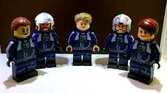 Massassi Group Pilots (TheHighGround2187) Tags: star wars lego starwars starwarslego legostarwars minifigures jedi last awakens force han rey poe finn luke leia skywalker solo organa movies kenobi obiwan yoda blasters red helmets galaxy space rebels rebellion ghost crew team family mandalorian