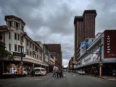 Street in the center. Pretoria, South Africa (varfolomeev) Tags: 2019 юар город улица fujifilmxt10 samyang12mm southafrica city street