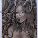 ''Succubus'' by Steve A, charcoal, $40.00