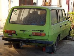 1980 Wartburg 353W Tourist (FromKG) Tags: wartburg 353w tourist green car kragujevac serbia 2019
