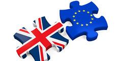 Agenti britannici già nell'Irlanda del Nord (PRP Channel) Tags: europeanunion illustration exitsign voting europeanunionflag leaving jigsawpuzzle threedimensionalshape partof england uk europe sign flag symbol puzzle render referendum isolated brexit