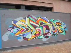 434 (en-ri) Tags: besk mods sf pusher giallo lilla verde arancione genova zena wall muro graffiti writing giardinidiplastica giardinibaltimora