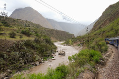 Following the river (A. Wee) Tags: peru 秘鲁 perurail urubamba river valley andes peruvian