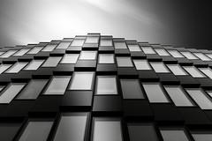 BLACKSTEPS (Robert_Franz) Tags: architecture architectural architektur münchen munich modern urban city longexposure fineart facade building exterior blackwhite blacksky sky
