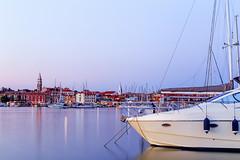 Izola (PokemonaDeChroma) Tags: izola island slovenia sunset longexposure canoneos6d summer water boat city seascape isola