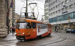 Bratislava tramway: Tatra T3SUCS # 7813 (Amir Nurgaliyev) Tags: tatrat3sucs bratislavatramway dpb