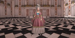 Robe à la Polonaise (Ludwikamaria) Tags: chateau de versailles 18th century xviii robe la polonaise coiffure cour marbre 1770s 1775s gown fashion marie antoinette louis xvi xv polish staff pastoral style mademoiselle rose bertin boudoir second life historical roleplay accurate royal court france royale royaume kingdom paris winter palace saint petersburg history catherine great paul i pavel petrovich russia empire russian golden age imperial peter iii dashkova poland warsaw bathrooms london