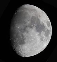 20190215 Moon (Roger Hutchinson) Tags: moon london astronomy astrophotography space celestron celestronedgehd11 canon canonphoto canoneos6d