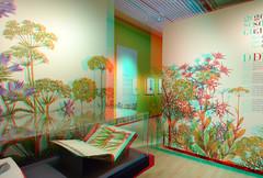 200 soorten groen in Teylers-museum Haarlem 3D