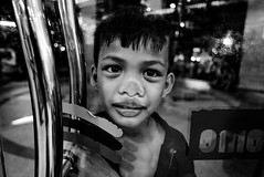 Outside Looking In - Manila, Philippines (LA Street Moments) Tags: philippines asia manila street leica bnw bw blackandwhite streetphotography