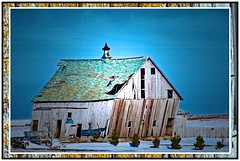 Neppl Barn - Winter (garywitte845) Tags: barn winter iowa saccounty frame artistic creative texture light decline snow farm rural