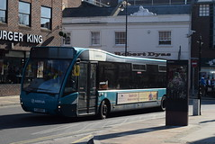 ASC 4204 @ Guildford Friary bus station (ianjpoole) Tags: arriva southern counties optare versa v1100 yj61chz 4204 working route a royal surry hospital guildford friary bus station